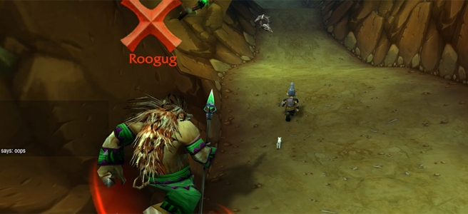 Running from Roogug - WoW Classic