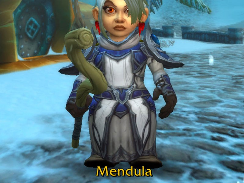 Mendula - Female gnome priest